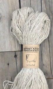 Fancy Tiger Craft's Heirloom Romney Yarn